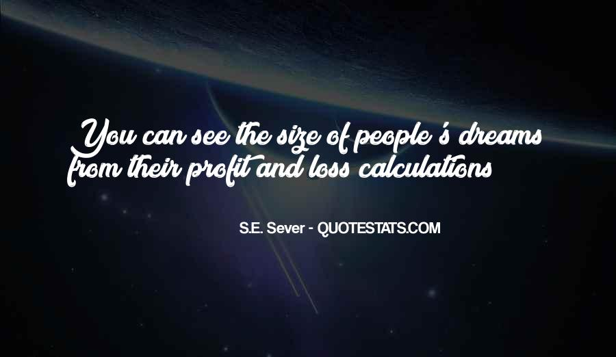 Sever'd Quotes #123393