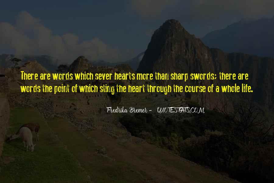 Sever'd Quotes #1237910