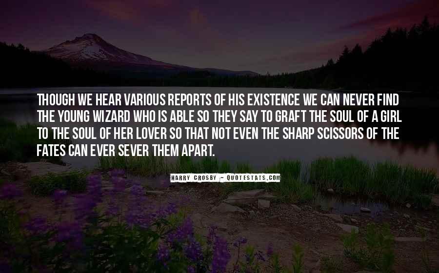 Sever'd Quotes #12957