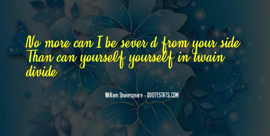 Sever'd Quotes #1697912