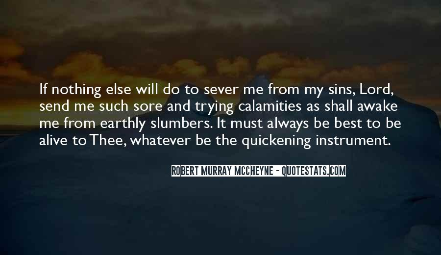 Sever'd Quotes #261981