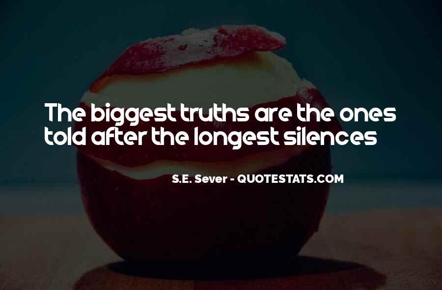 Sever'd Quotes #504123