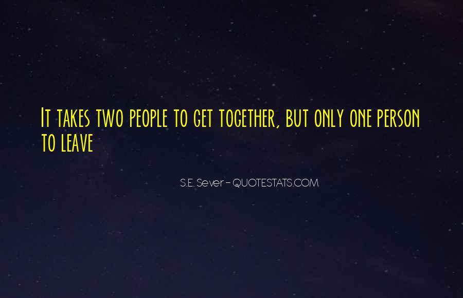Sever'd Quotes #619618