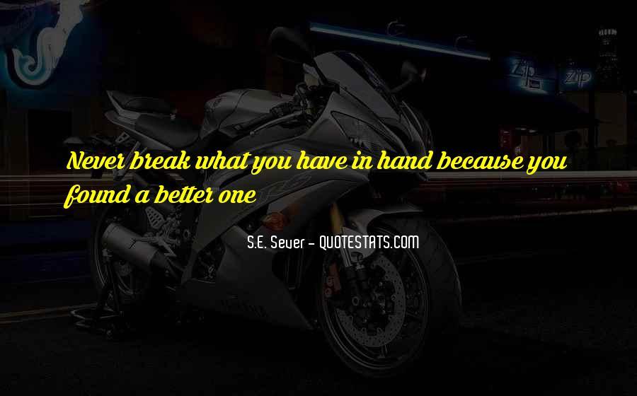 Sever'd Quotes #705320