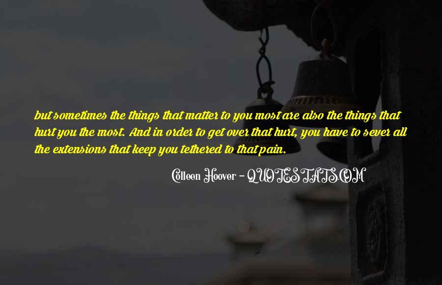 Sever'd Quotes #761270