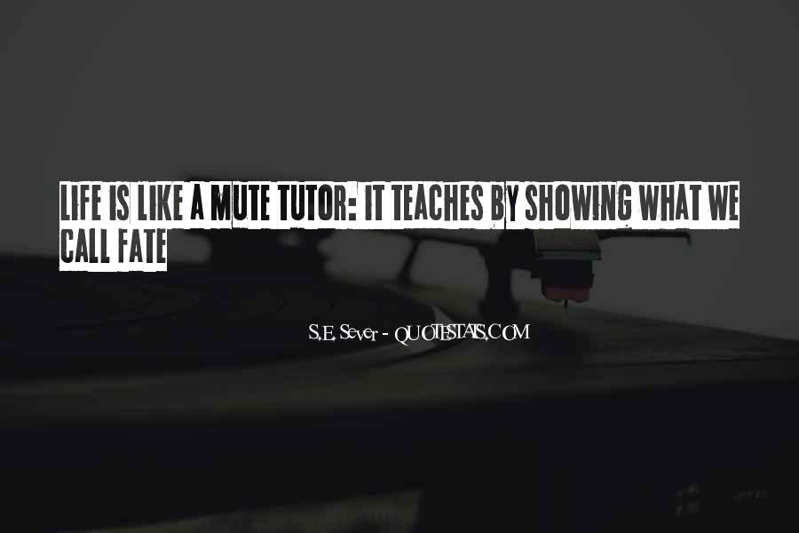 Sever'd Quotes #869285