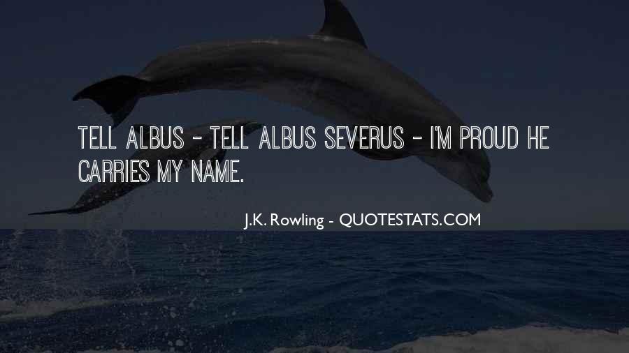 Severus's Quotes #1052764