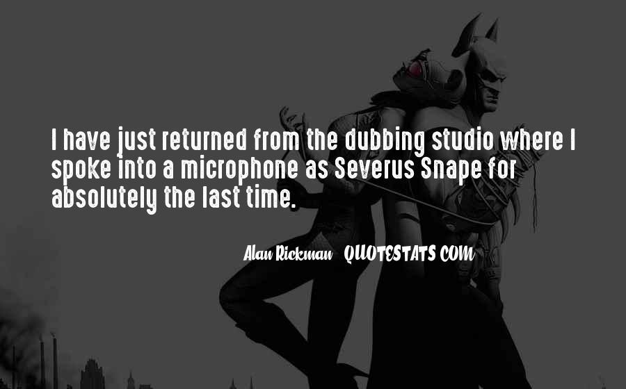 Severus's Quotes #1148068