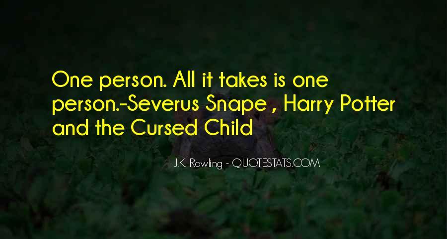 Severus's Quotes #1289841