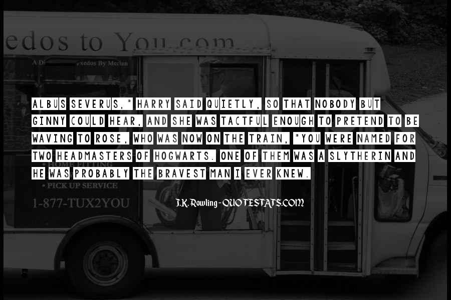 Severus's Quotes #1665526