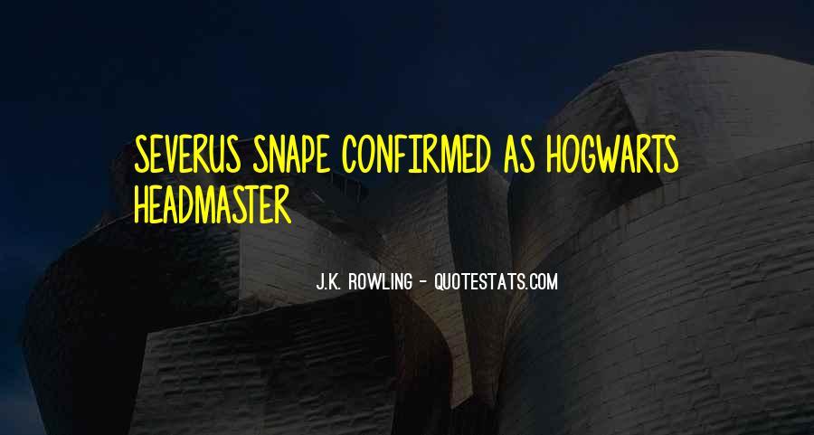 Severus's Quotes #542345