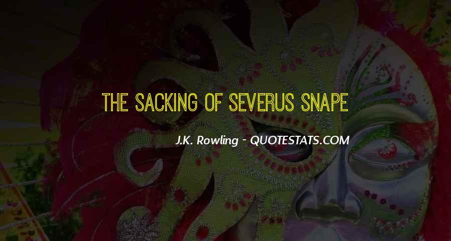 Severus's Quotes #592489