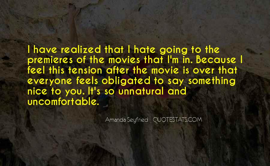 Seyfried Quotes #1094679