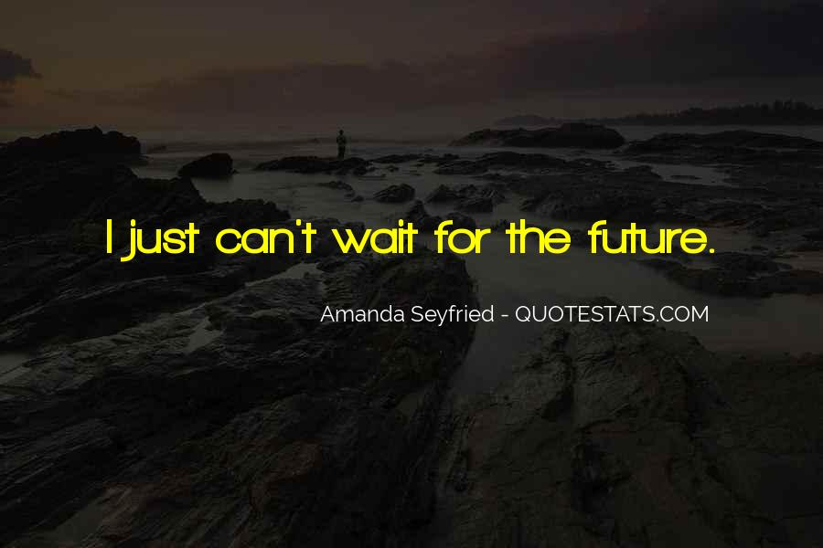 Seyfried Quotes #1210307