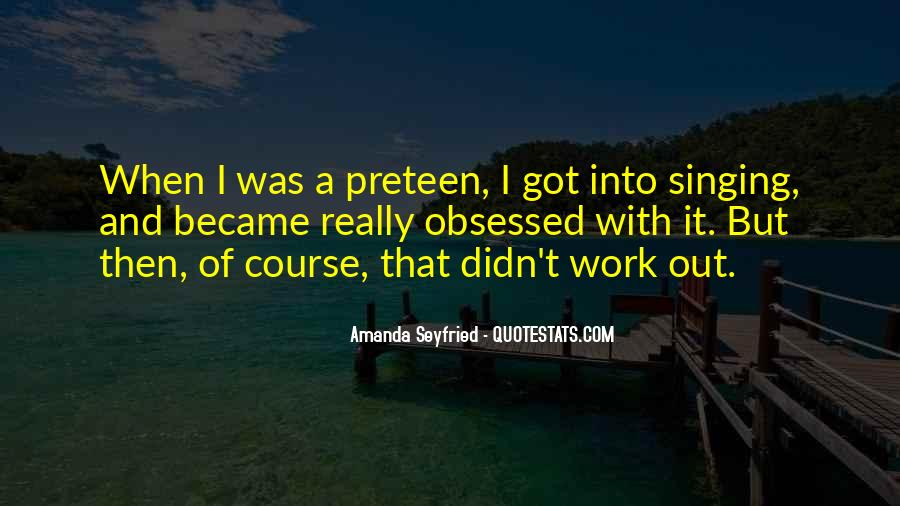 Seyfried Quotes #1363855