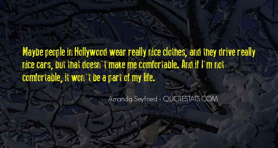 Seyfried Quotes #163791