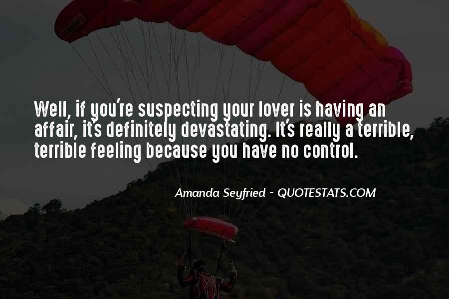 Seyfried Quotes #1786810