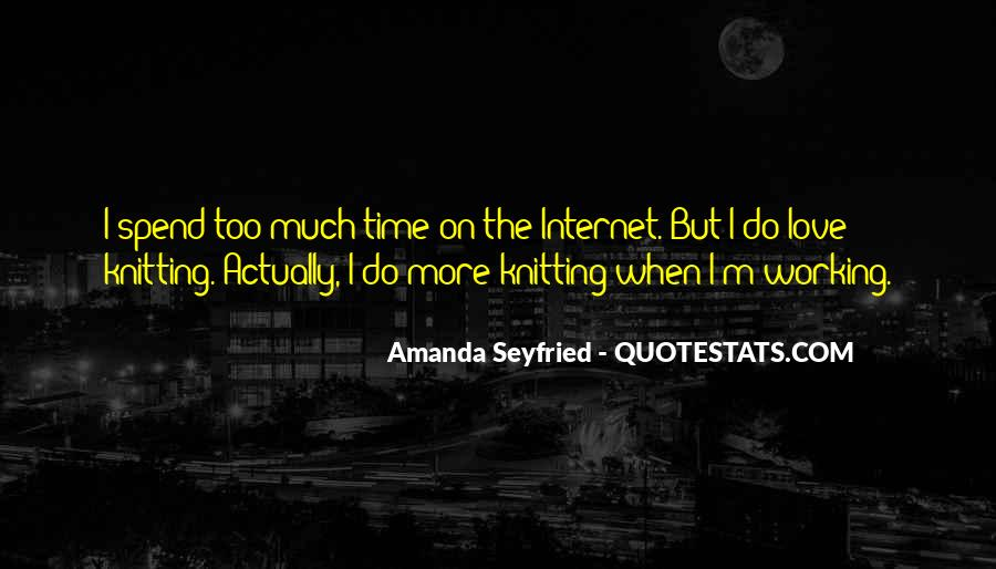 Seyfried Quotes #233745