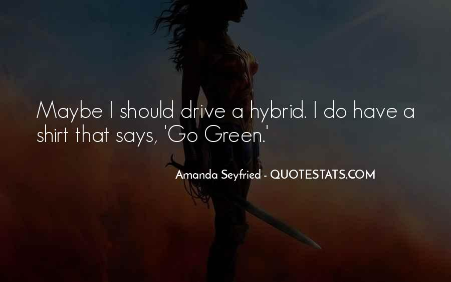 Seyfried Quotes #245412