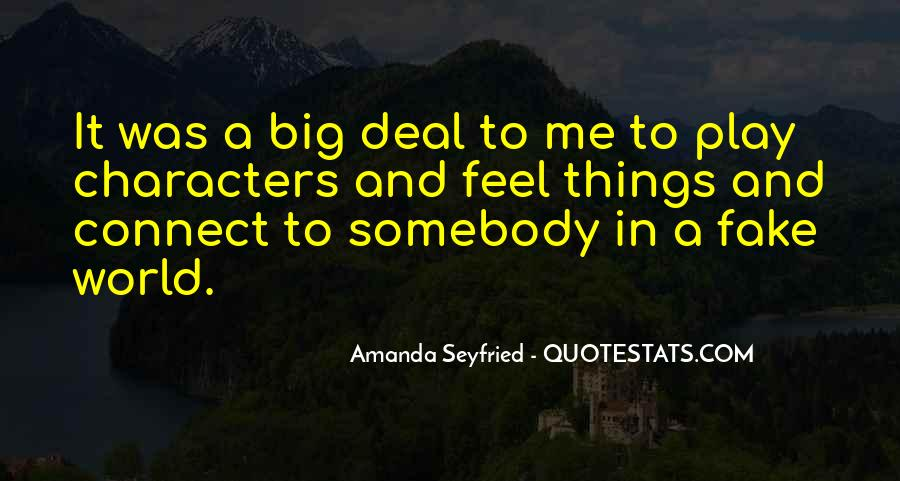 Seyfried Quotes #792893