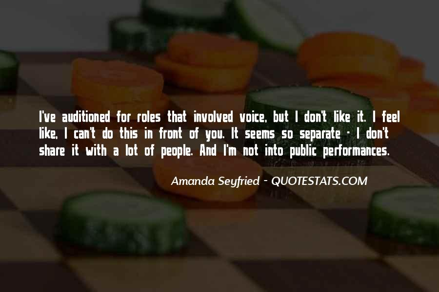 Seyfried Quotes #964902