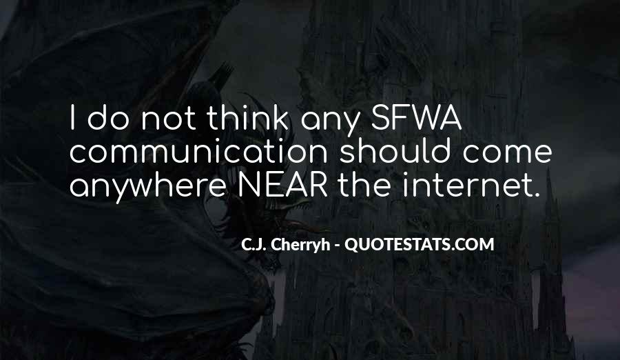 Sfwa Quotes #1755497