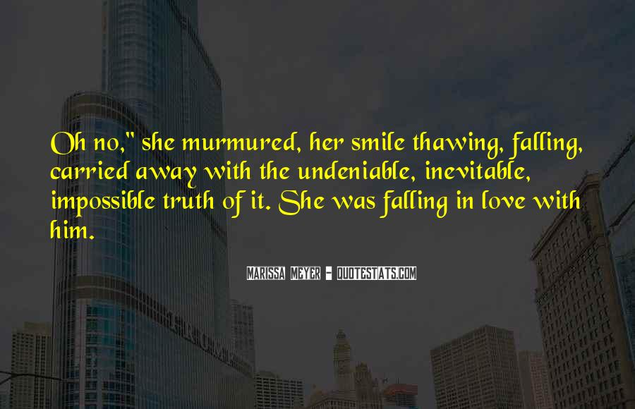 Quotes About Falling In Love With Her Smile #1022094