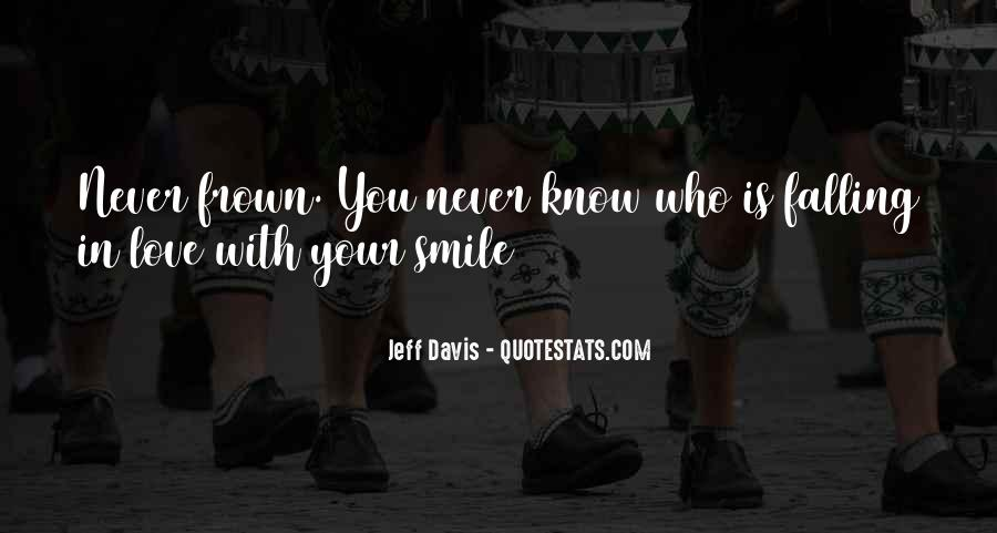 Quotes About Falling In Love With Her Smile #165741