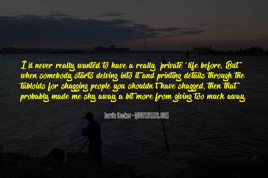 Shagged Quotes #561545