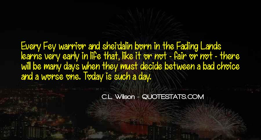 Shei'dalin Quotes #1055094