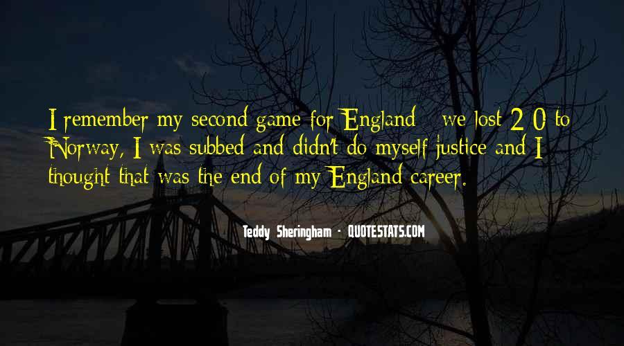 Sheringham Quotes #147722
