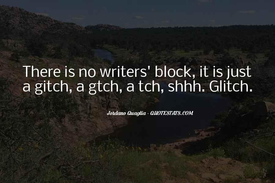 Shhh'ed Quotes #1237610