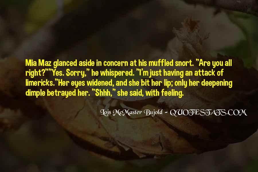 Shhh'ed Quotes #1376795