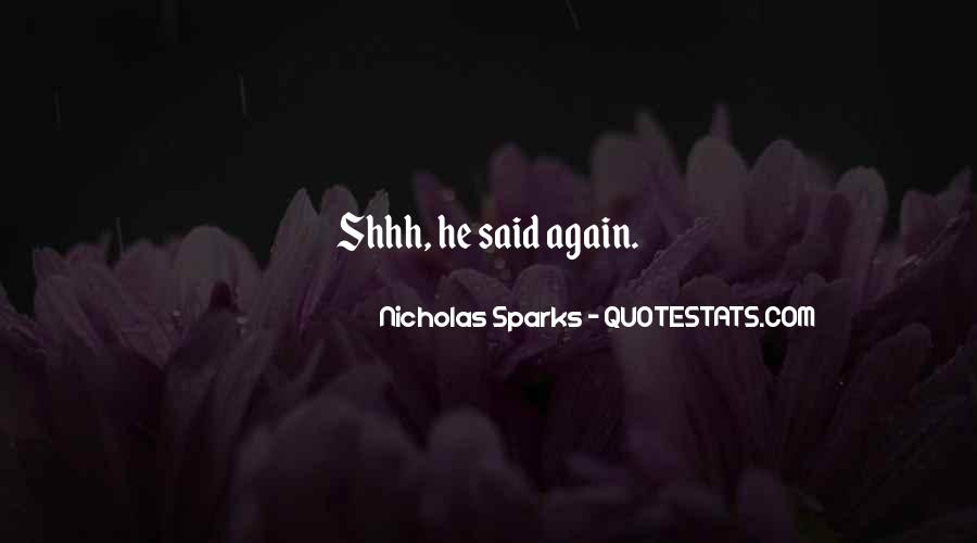Shhh'ed Quotes #1511044