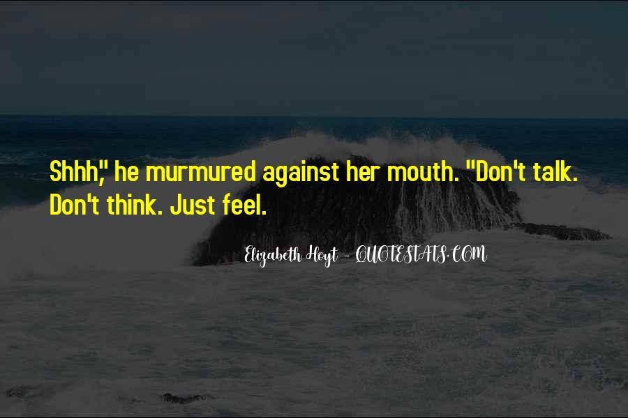 Shhh'ed Quotes #1838699