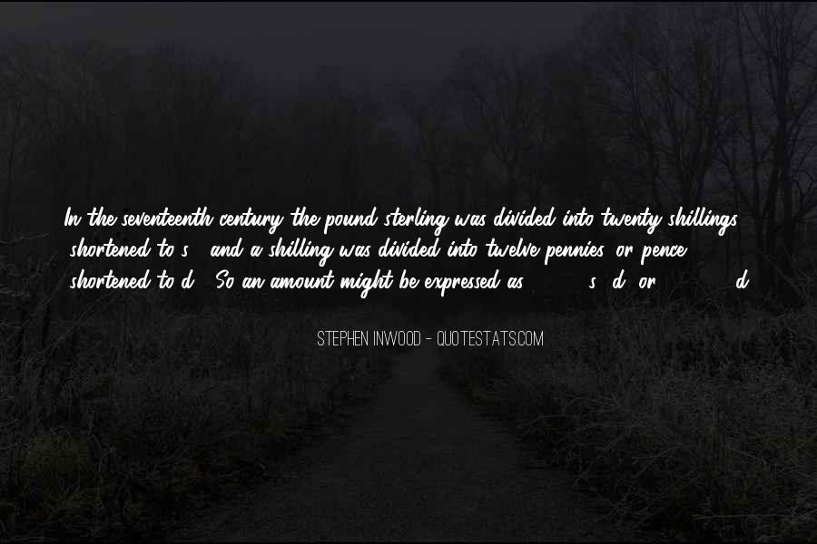 Shillings Quotes #111689