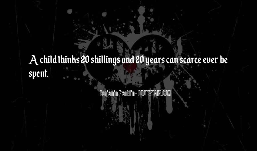 Shillings Quotes #1120671