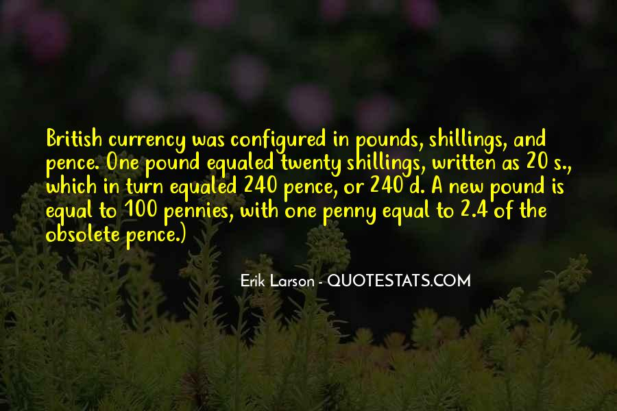 Shillings Quotes #535608