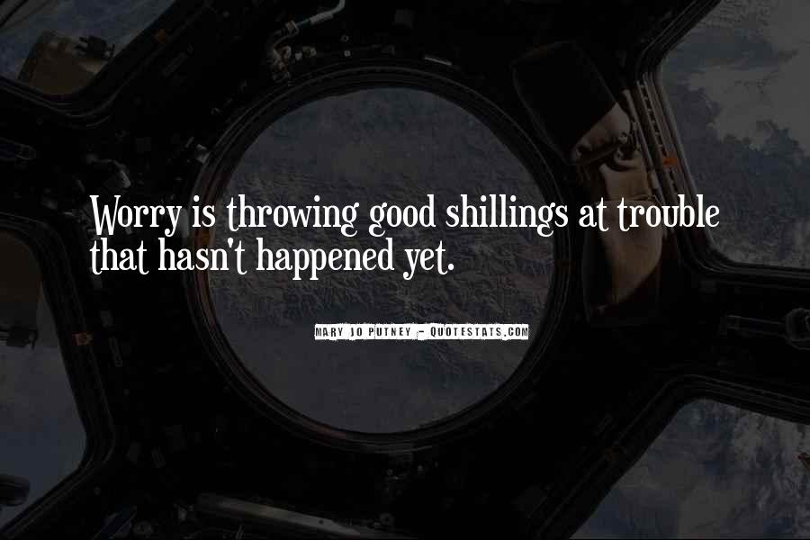 Shillings Quotes #910577