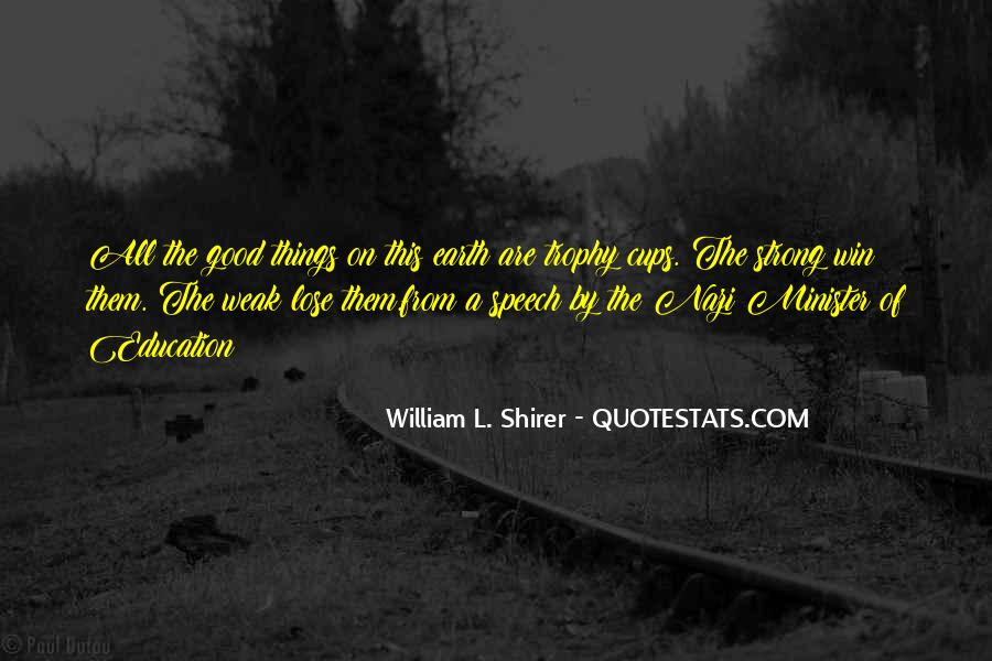 Shirer Quotes #1248072