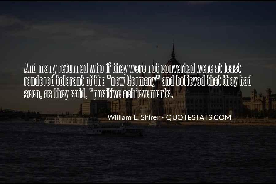 Shirer Quotes #270347