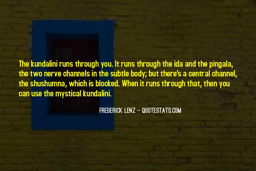 Shushumna Quotes #1209578
