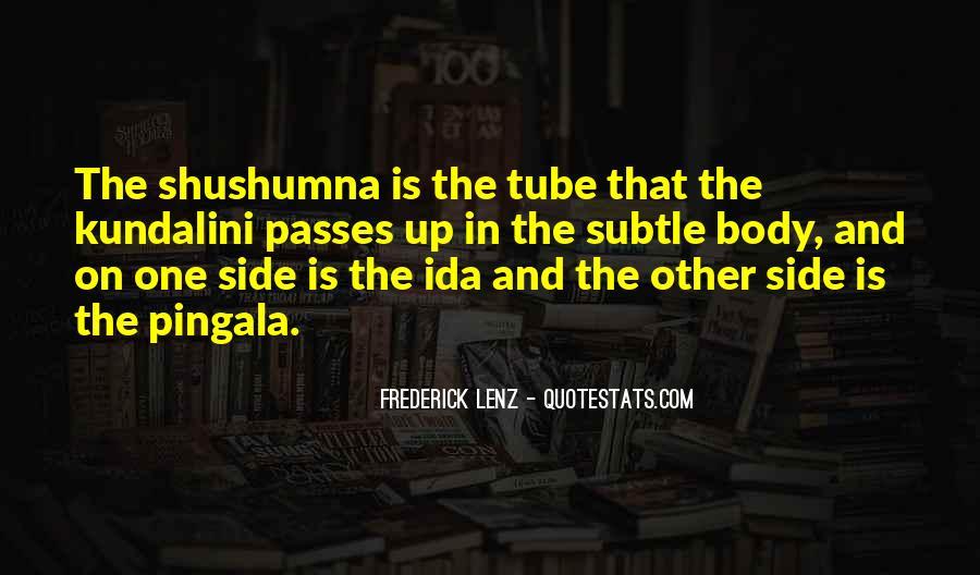 Shushumna Quotes #1246428