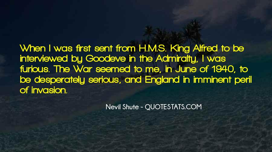 Shute's Quotes #1602295