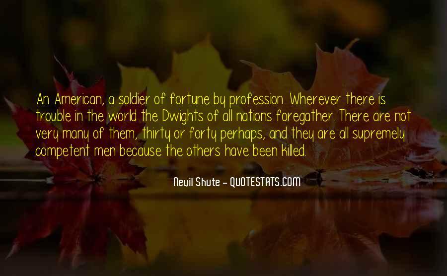 Shute's Quotes #164211