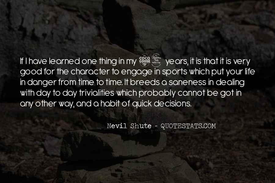 Shute's Quotes #273910
