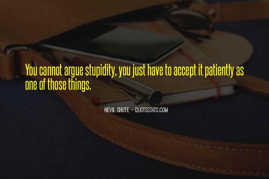 Shute's Quotes #481557