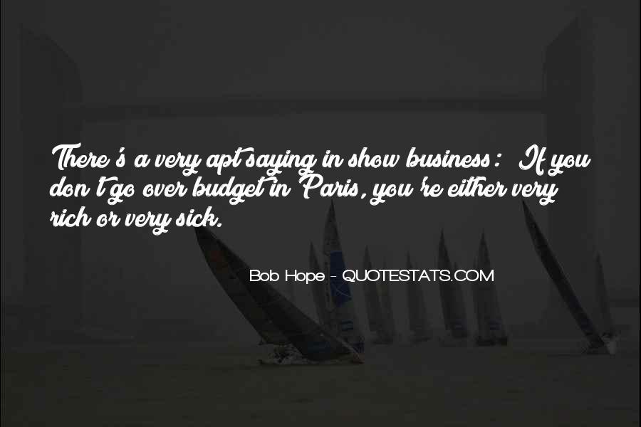 Sick's Quotes #154083
