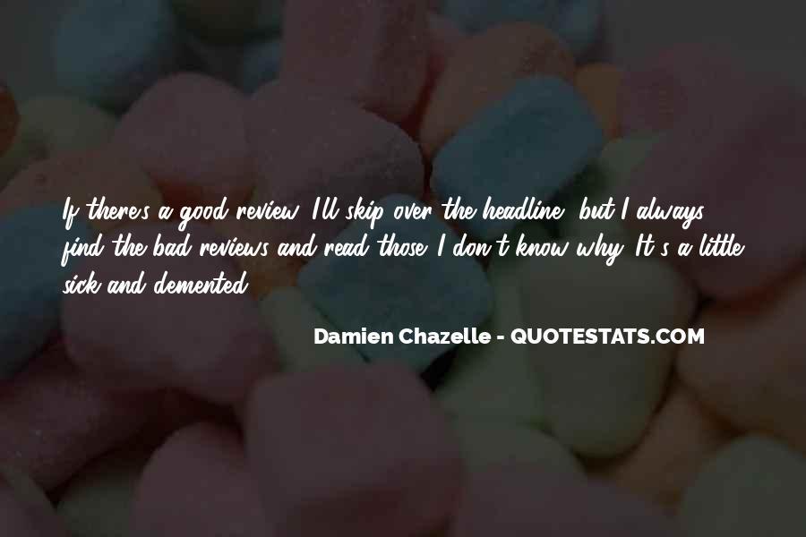 Sick's Quotes #174783