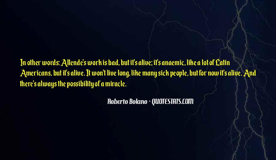 Sick's Quotes #195648